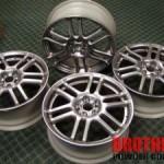 Metal Rims to Motorcycle Tires