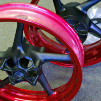 custom powder coating wheels